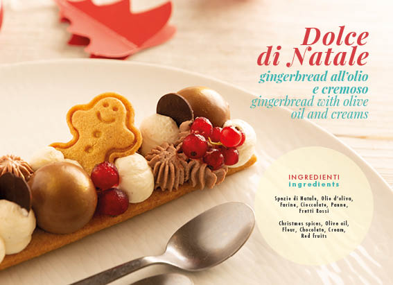 Dolce di Natale Gingerbread all'Olio e cremoso